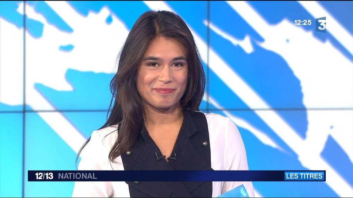 Emilie Tran Nguyen 12/13 France 3 le 07.10.2016