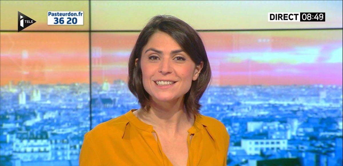 Sonia Chironi La Matinale Week-end Itélé 08.10.2016
