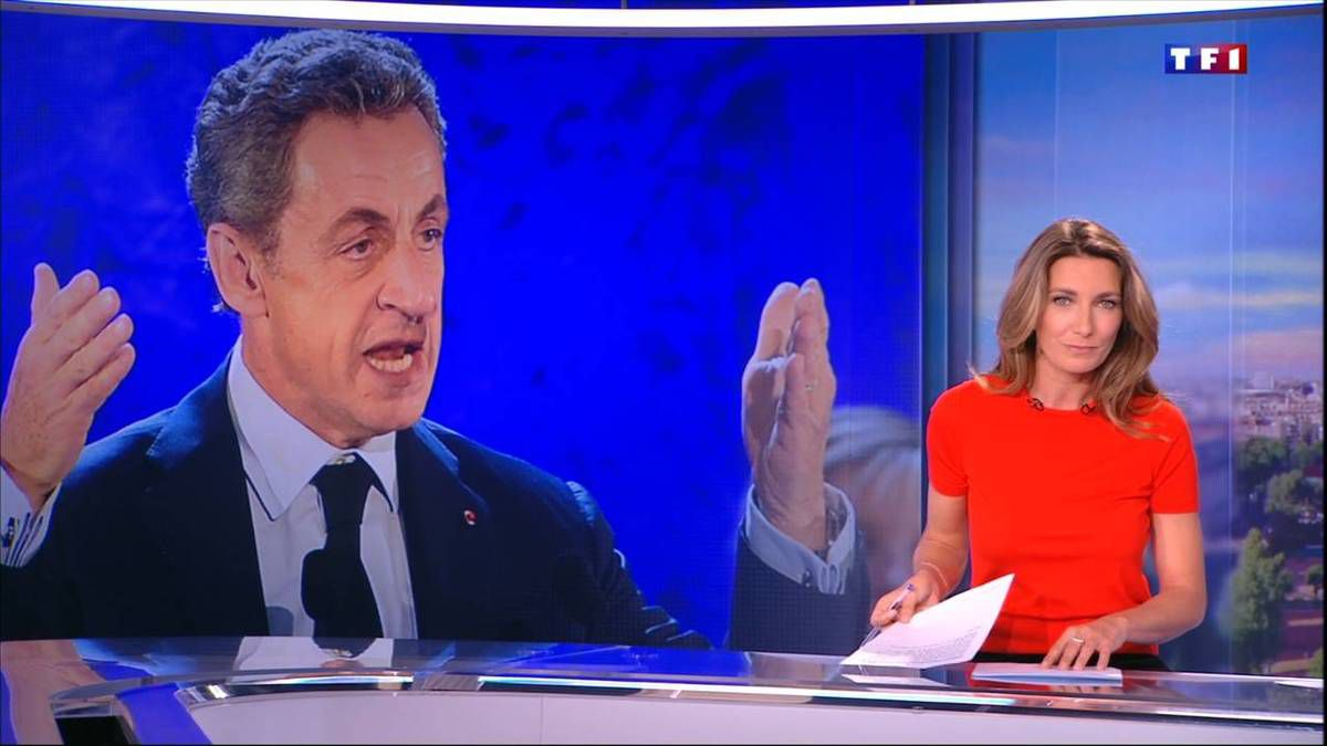 Anne-Claire Coudray JT 13H TF1 08.10.2016