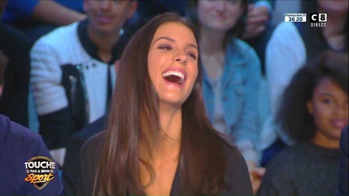Ludivine Sagna Touche Pas à Mon Sport C8 le 08.10.2016