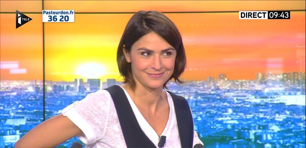 Sonia Chironi La Matinale Week-end Itélé 09.10.2016