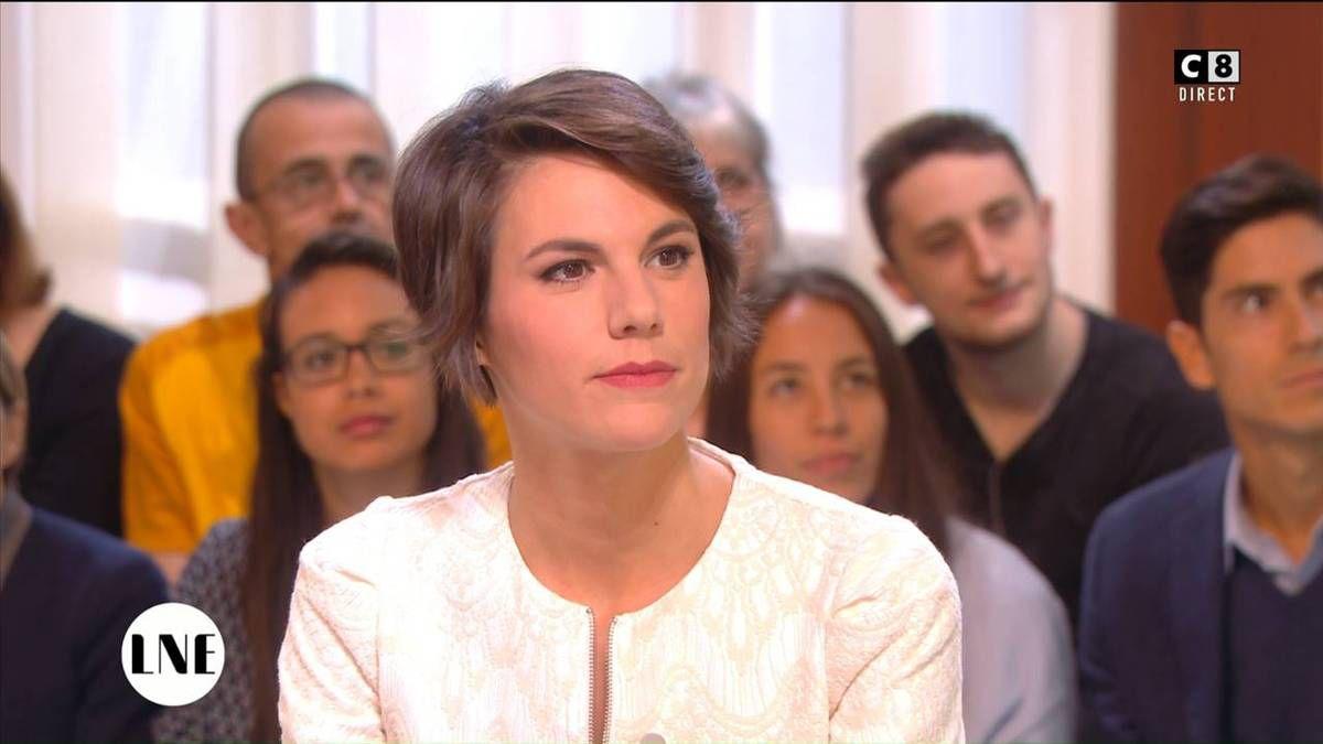 Emilie Besse La Nouvelle Edition C8 le 10.10.2016
