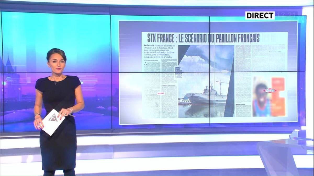 Amandine Bégot Le 17-19 Itélé le 10.10.2016