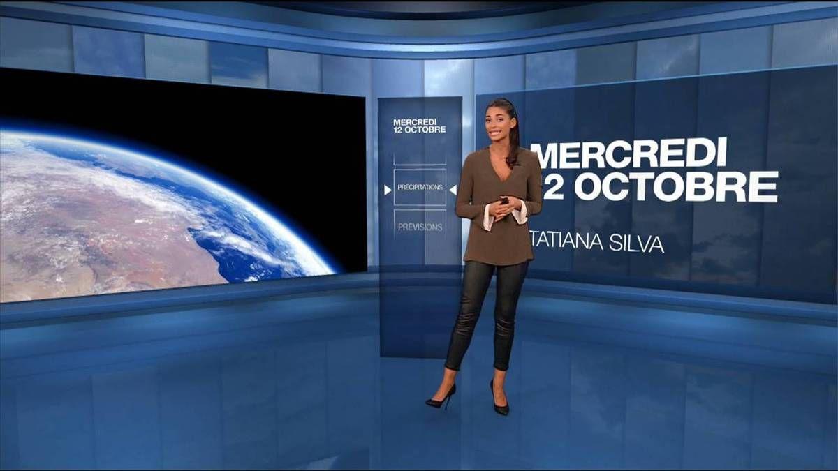 Tatiana Silva Météo M6 le 12.10.2016