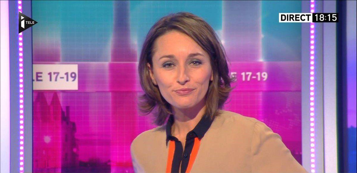Amandine Bégot Le 17-19 Itélé le 12.10.2016