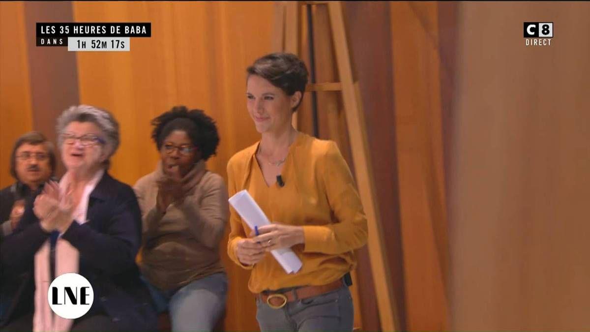 Emilie Besse La Nouvelle Edition C8 le 13.10.2016