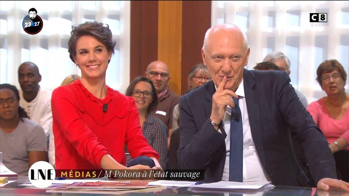 Emilie Besse La Nouvelle Edition C8 le 14.10.2016