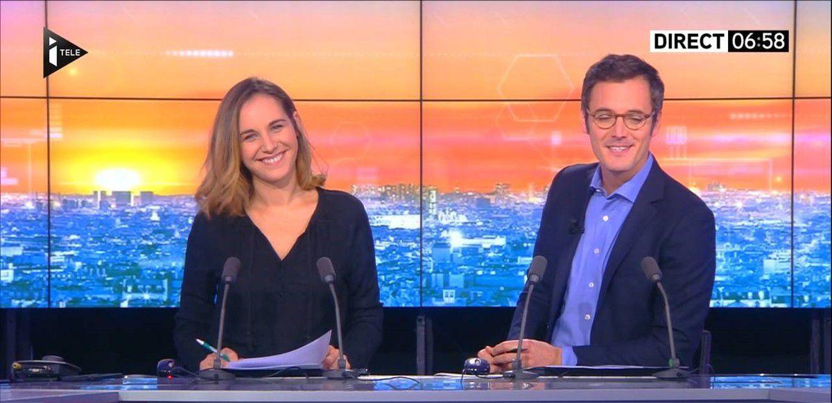 Anaïs Castagna La Matinale WE Itélé le 15.10.2016