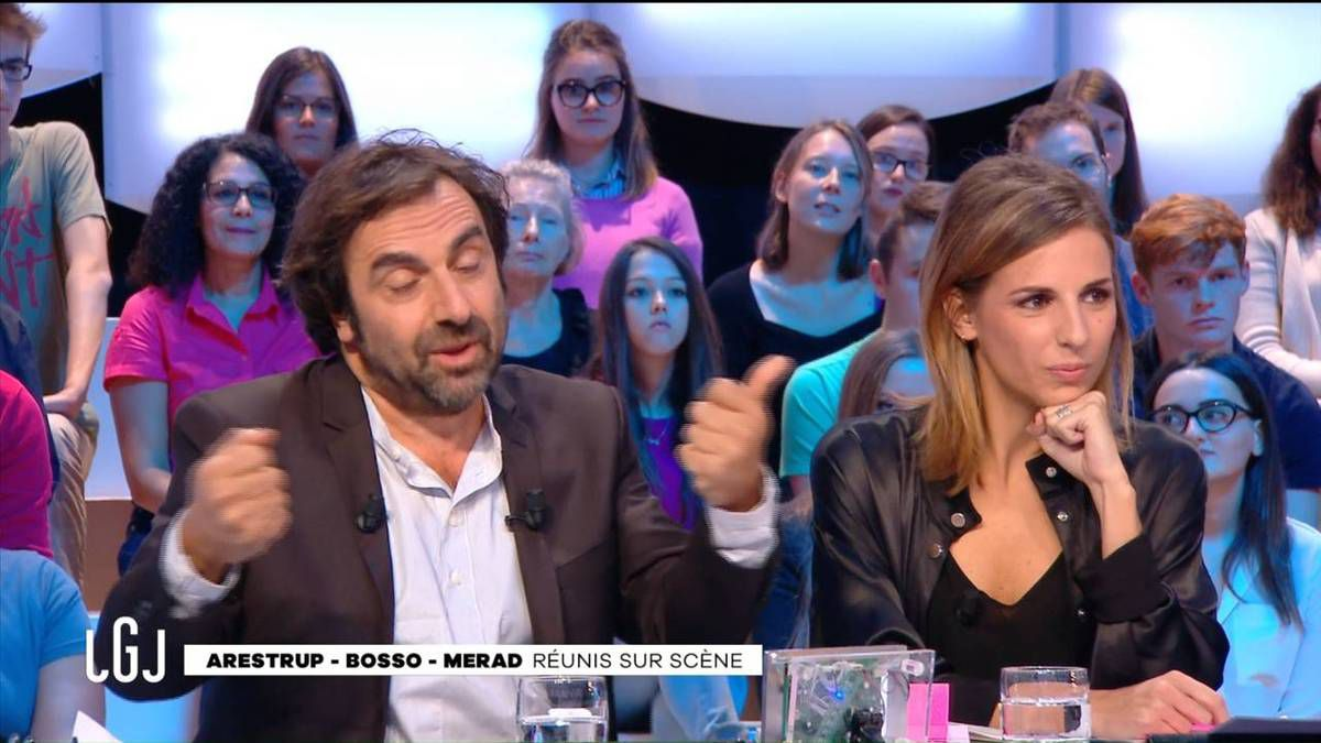 Alice Darfeuille Le Grand Journal Canal+ le 17.10.2016