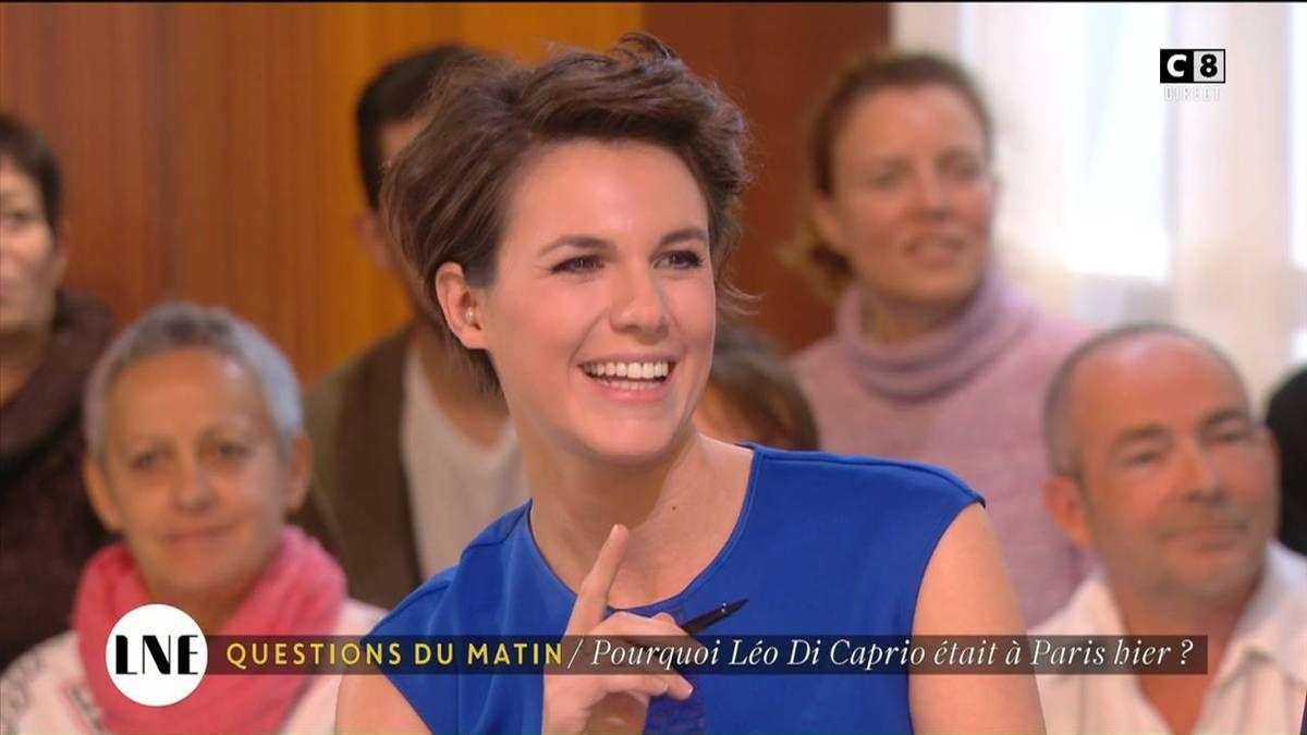 Emilie Besse La Nouvelle Edition C8 le 18.10.2016
