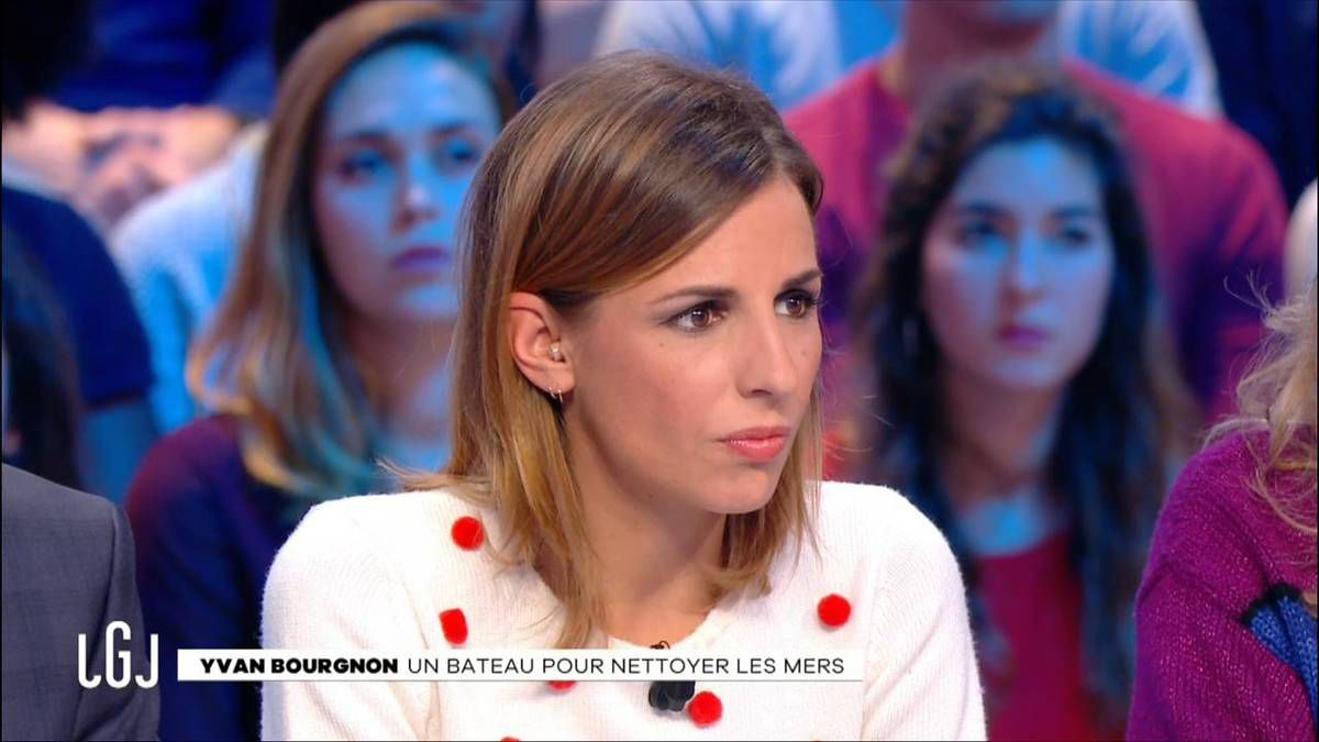Alice Darfeuille Le Grand Journal Canal+ le 19.10.2016