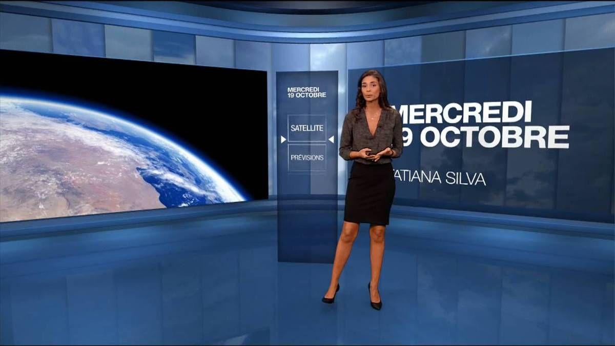Tatiana Silva Météo M6 le 19.10.2016