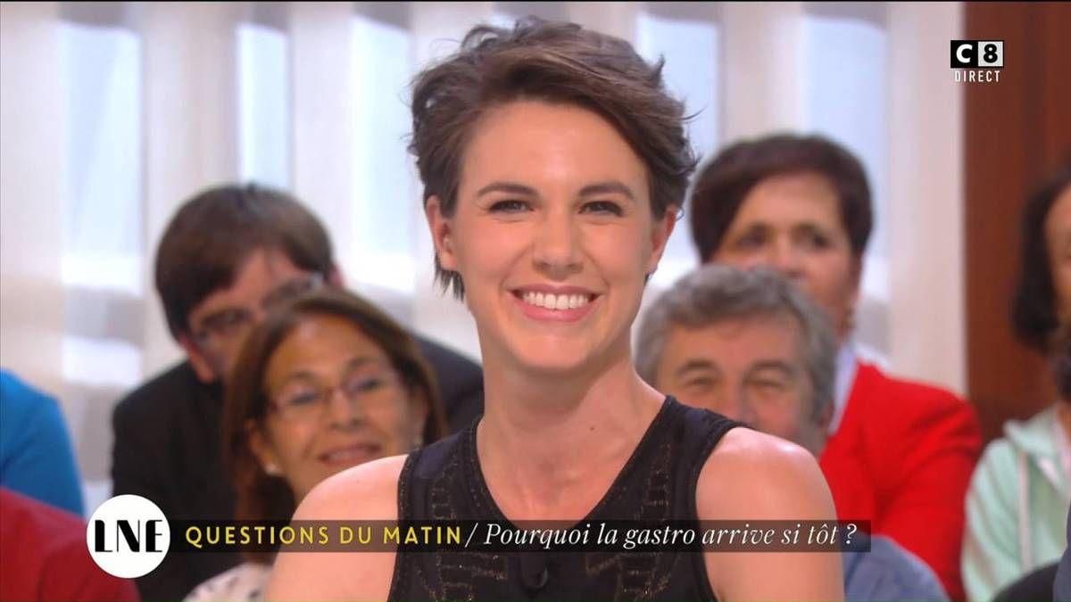 Emilie Besse La Nouvelle Edition C8 le 19.10.2016