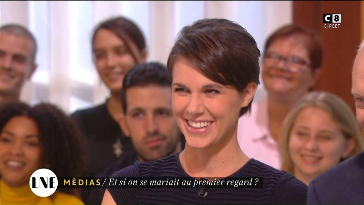 Emilie Besse La Nouvelle Edition C8 le 20.10.2016