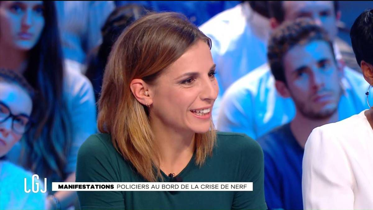Alice Darfeuille Le Grand Journal Canal+ le 20.10.2016