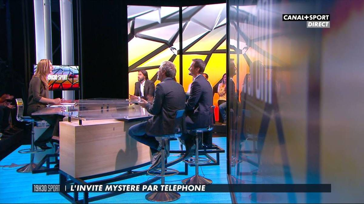 Marie Portolano 19H30 Sport Canal+ Sport le 21.10.2016