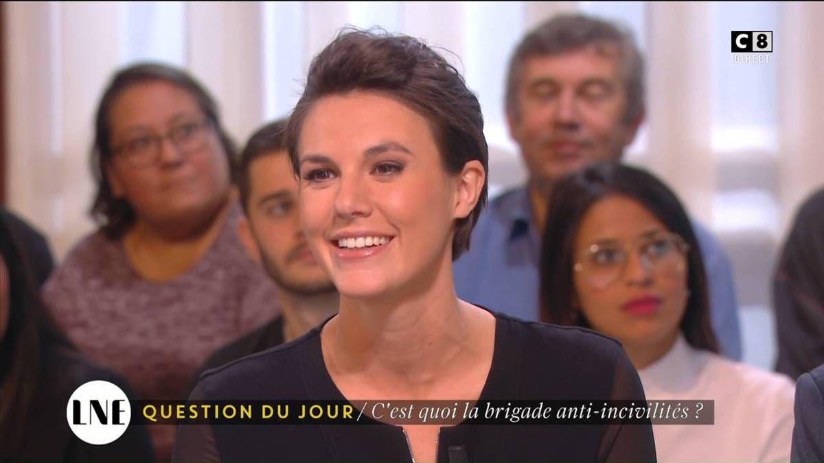 Emilie Besse La Nouvelle Edition C8 le 21.10.2016