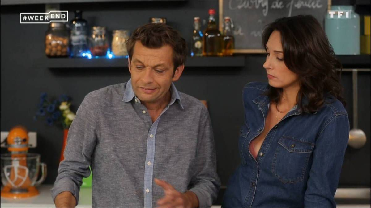 Julia Vignali #Weekend TF1 le 22.10.2016
