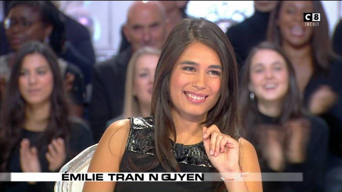 Emilie Tran Nguyen Salut les Terriens C8 le 22.10.2016