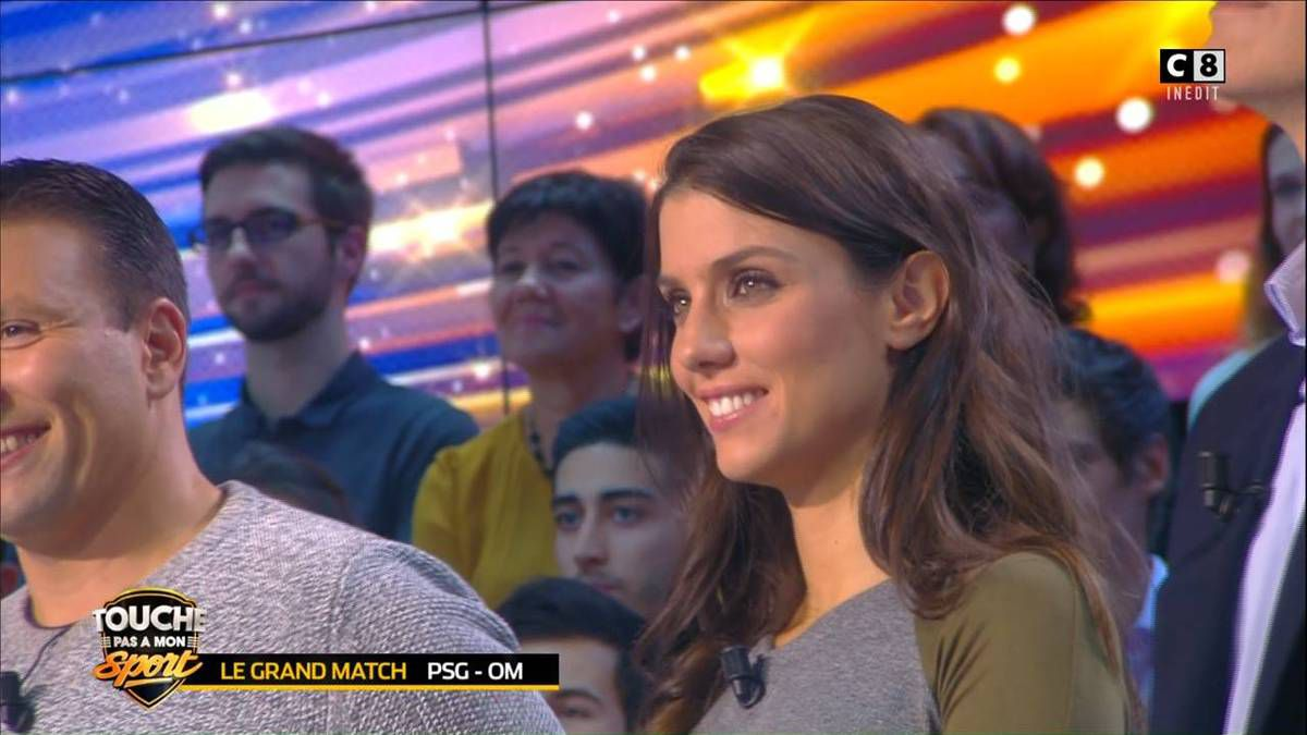 Ludivine Sagna Touche Pas à Mon Sport C8 le 22.10.2016