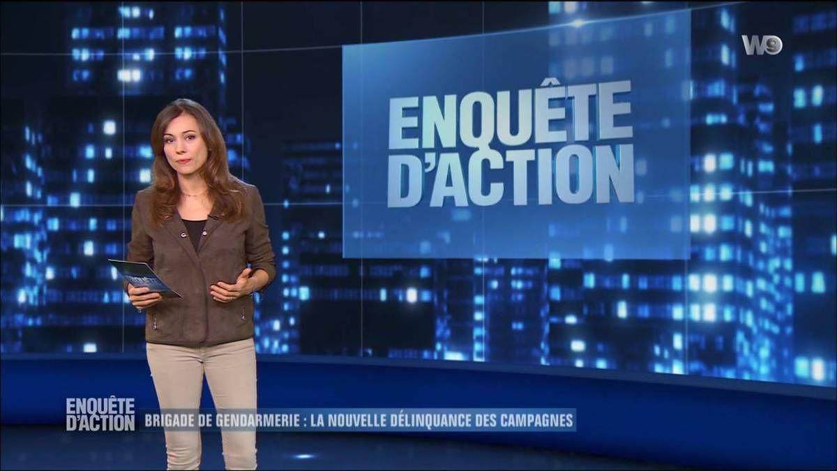 Marie-Ange Casalta Enquêtes d'Action W9 le 28.10.2016