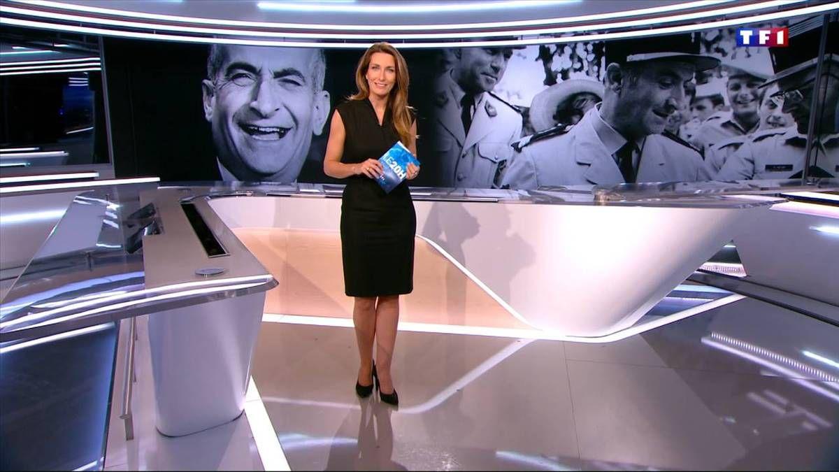 Anne-Claire Coudray JT 20H TF1 le 28.10.2016