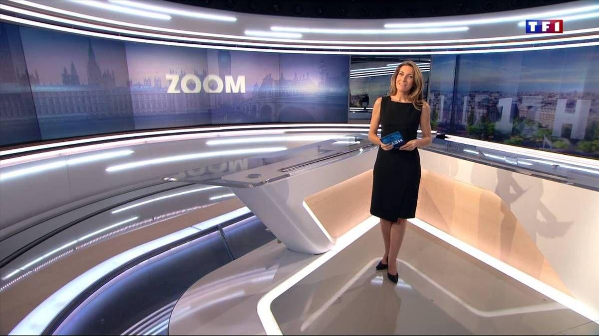 Anne-Claire Coudray JT 13H TF1 le 30 octobre 2016