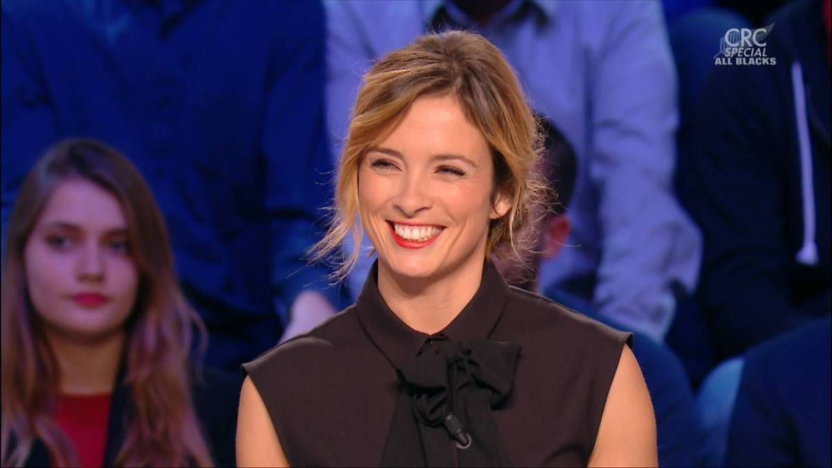 Isabelle Ithurburu Canal Rugby Club Canal+ le 30.10.2016