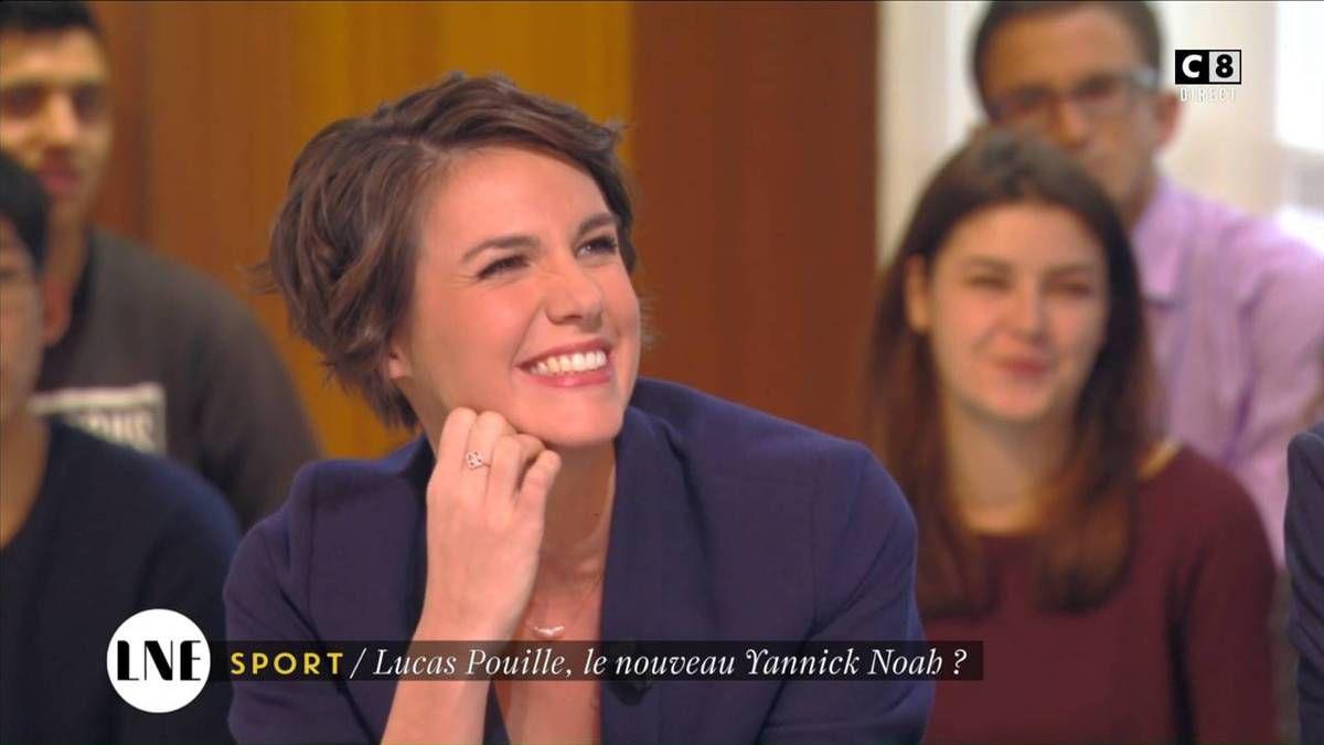 Emilie Besse La Nouvelle Edition C8 le 02.11.2016