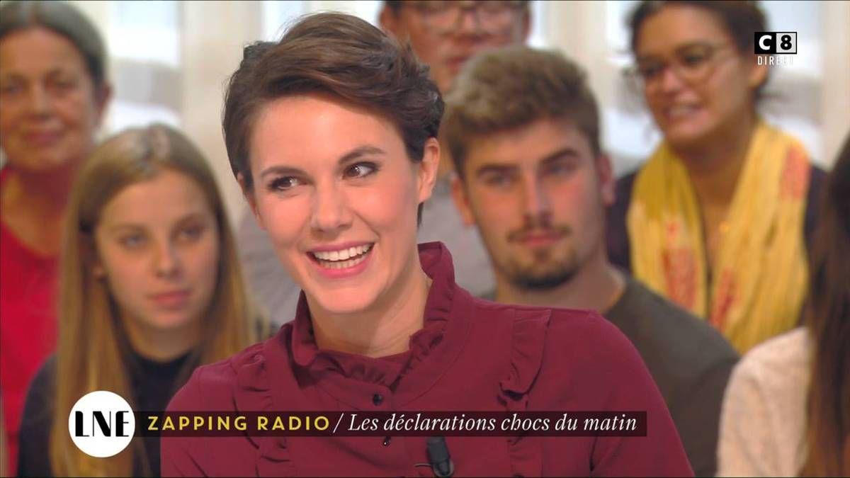 Emilie Besse La Nouvelle Edition C8 le 03.11.2016
