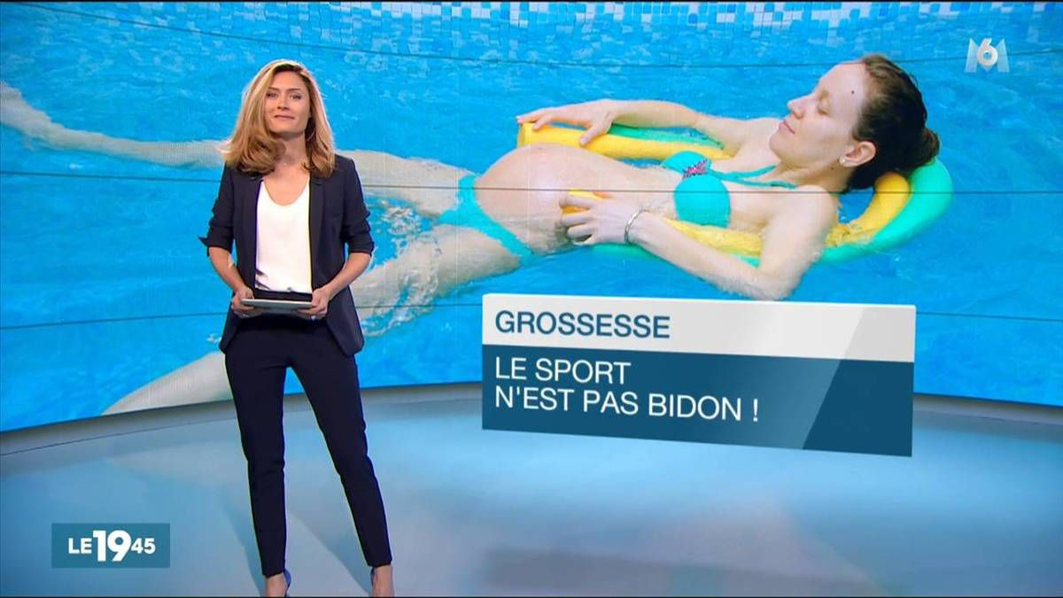 Diane Douzillé Le 19:45 M6 le 04.11.2016