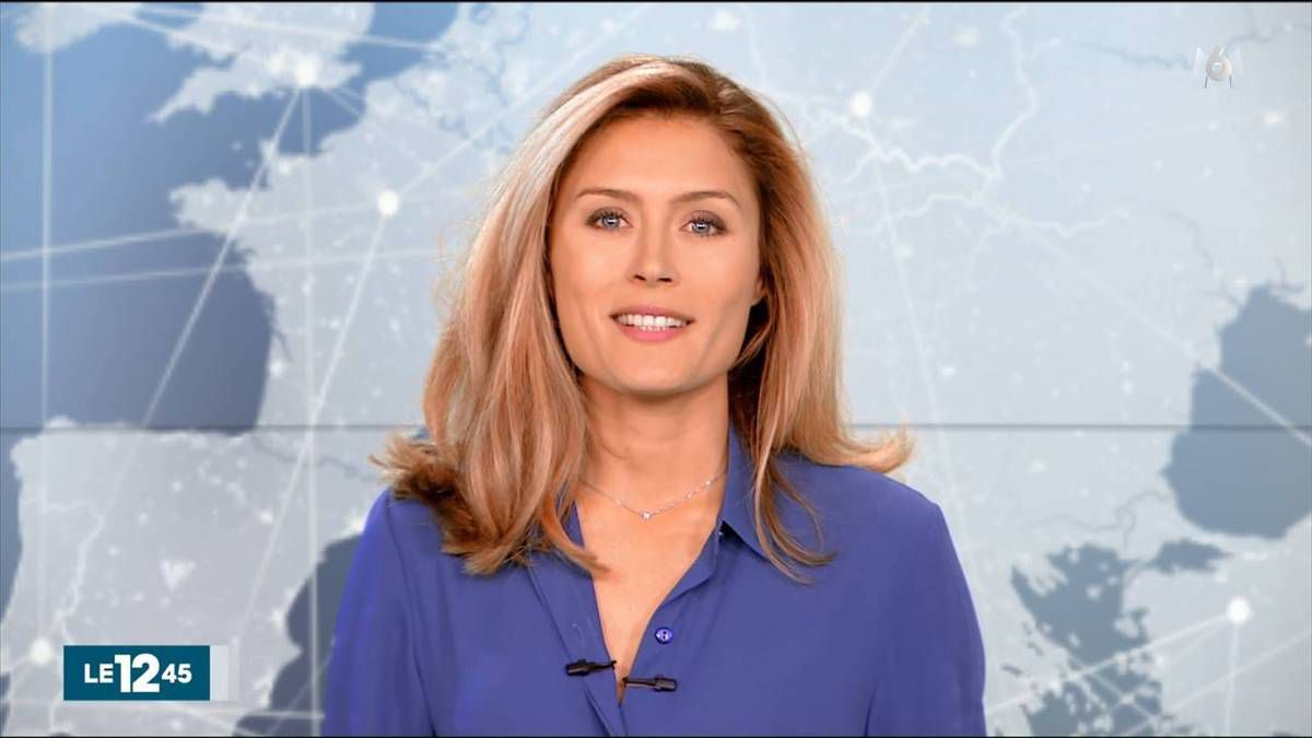 Diane Douzillé Le 12:45 M6 le 5 novembre 2016