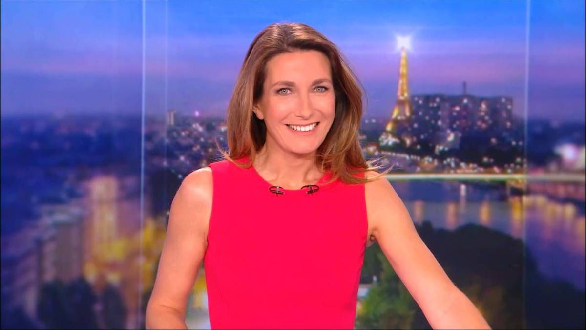 Anne-Claire Coudray JT 20H TF1 le 05.11.2016