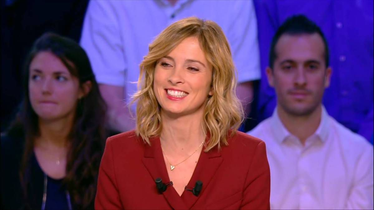 Isabelle Ithurburu Canal Rugby Club Canal+ le 06.11.2016