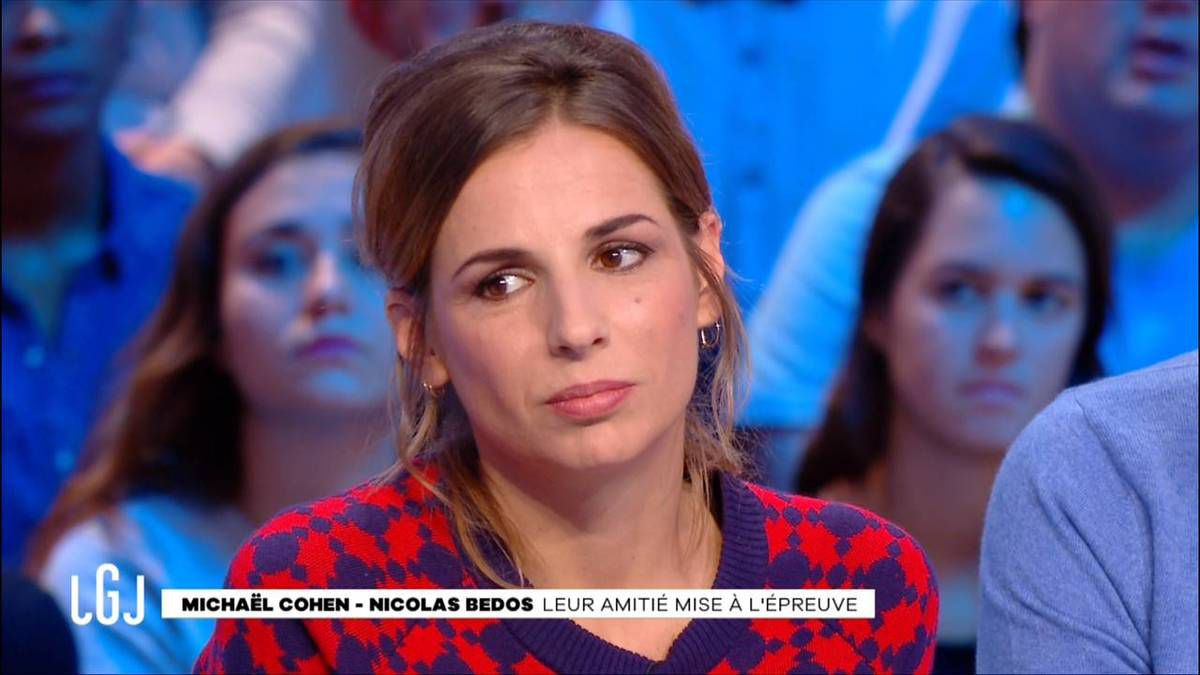 Alice Darfeuille Le Grand Journal Canal+ le 07.11.2016