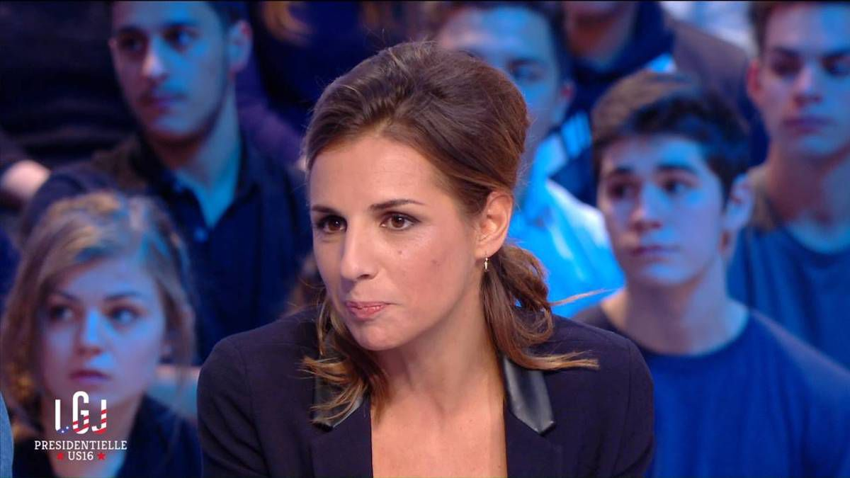 Alice Darfeuille Le Grand Journal Canal+ le08.11.2016