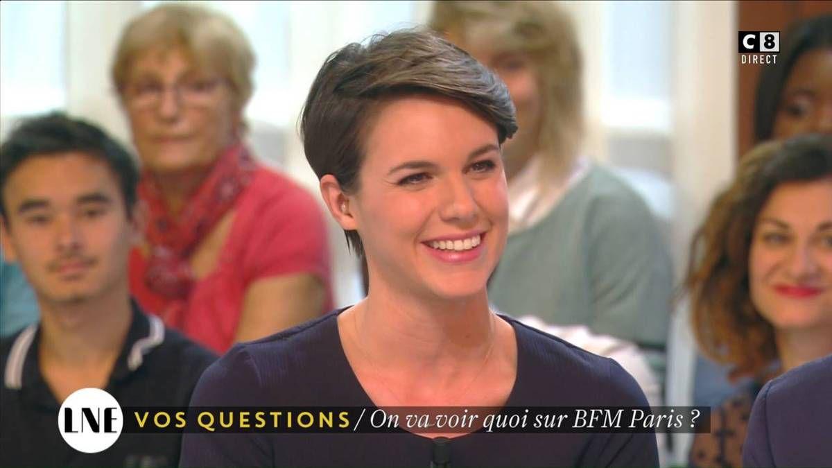 Emilie Besse La Nouvelle Edition C8 le 08.11.2016