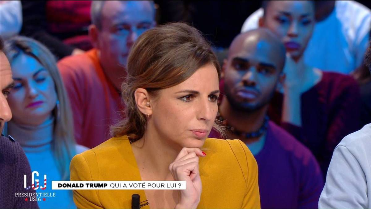 Alice Darfeuille Le Grand Journal Canal+ le 10.11.2016
