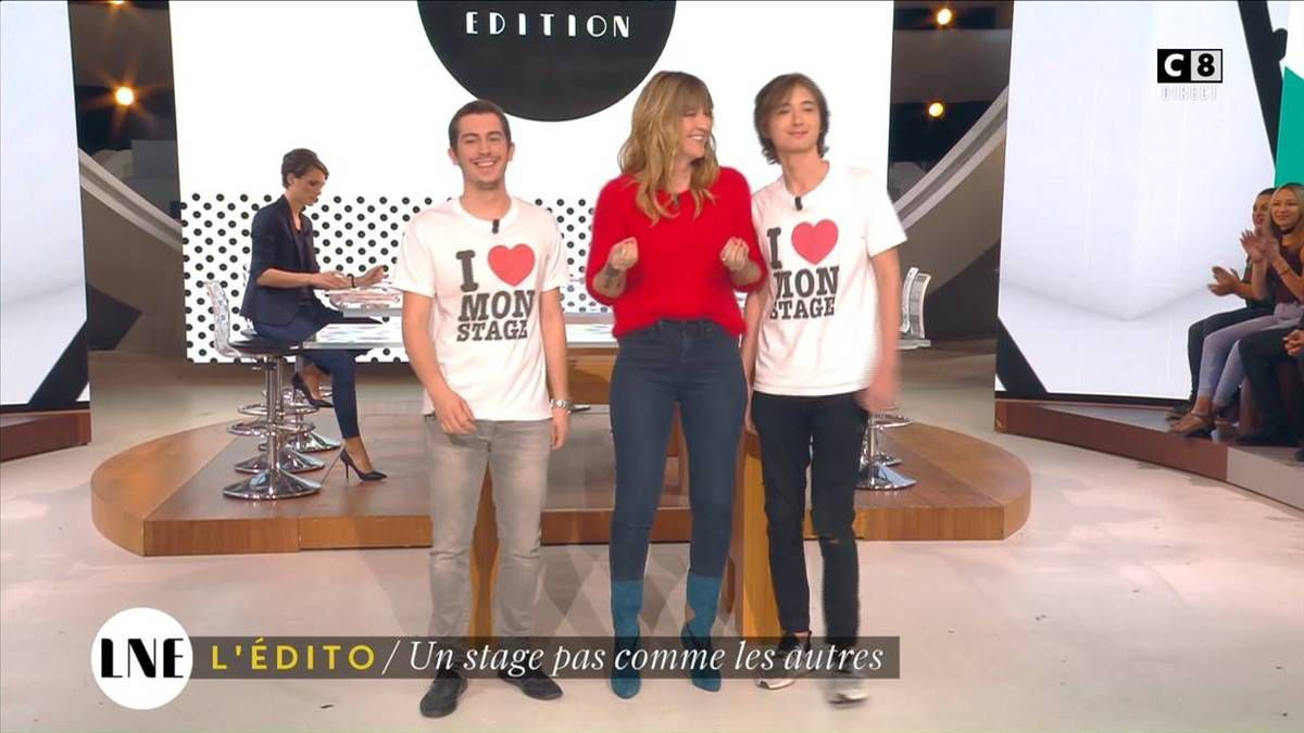 Emilie Besse La Nouvelle Edition C8 le 10.11.2016