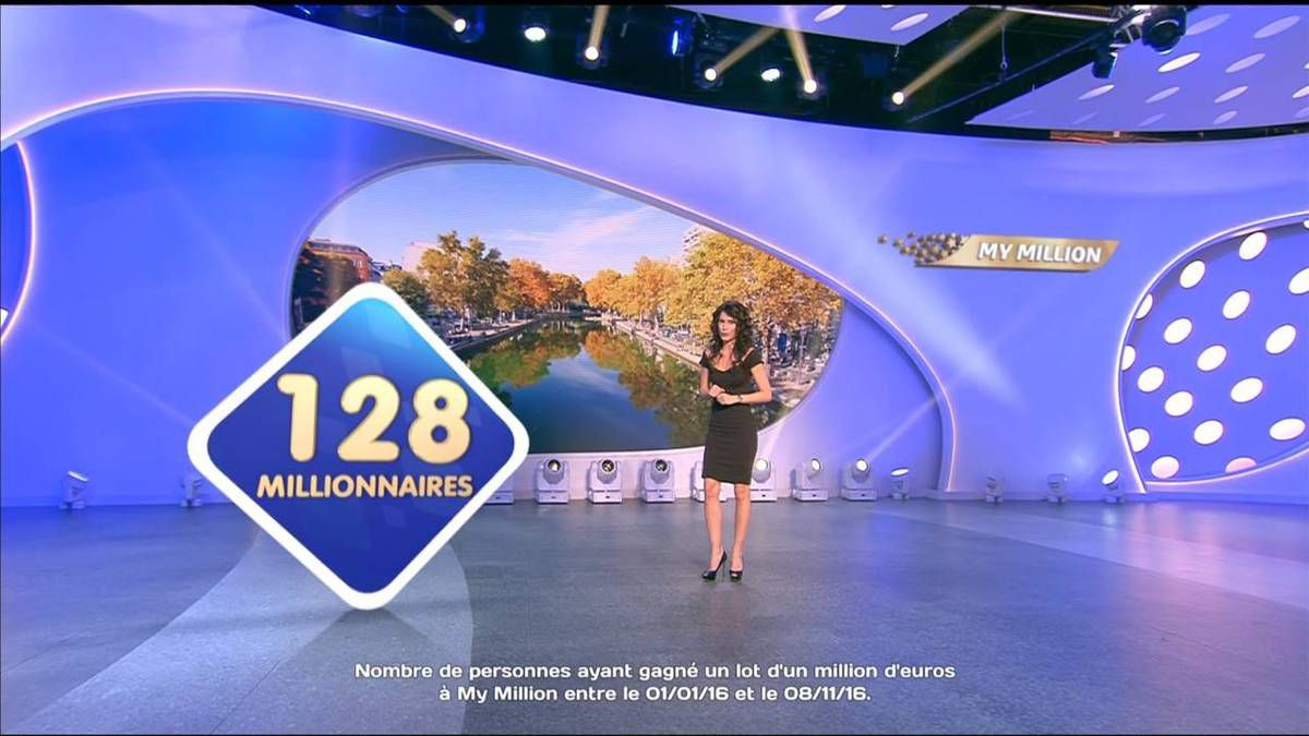 Marion Jollès Grosjean Tirage Euromillions TF1 le 11.11.2016