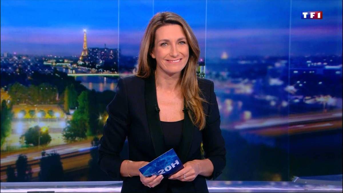 Anne-Claire Coudray JT 20H TF1 le 11.11.2016