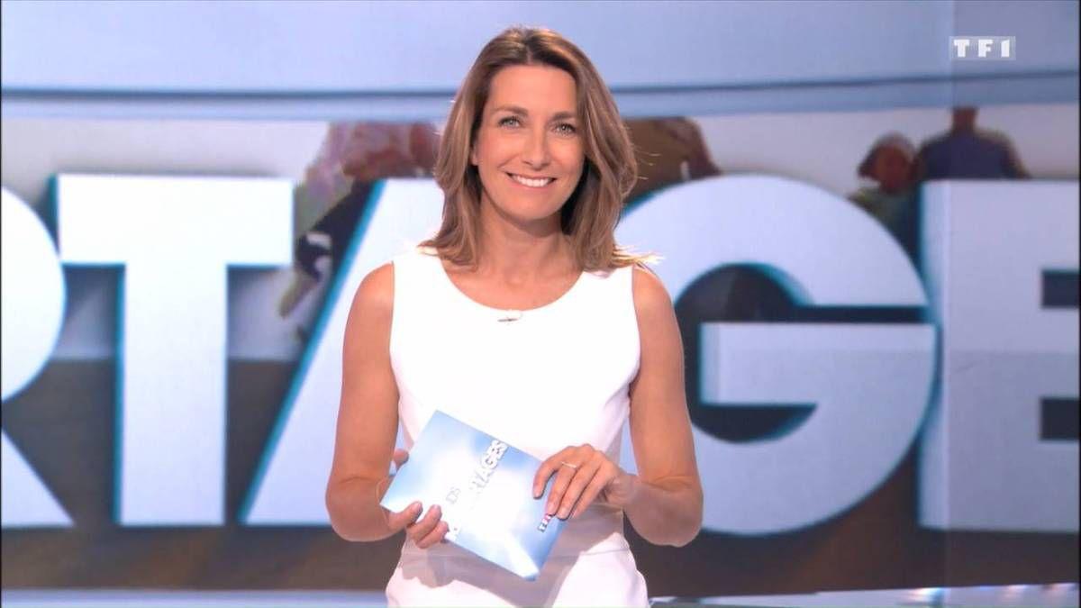 Anne-Claire Coudray JT 13H TF1 le 13.11.2016