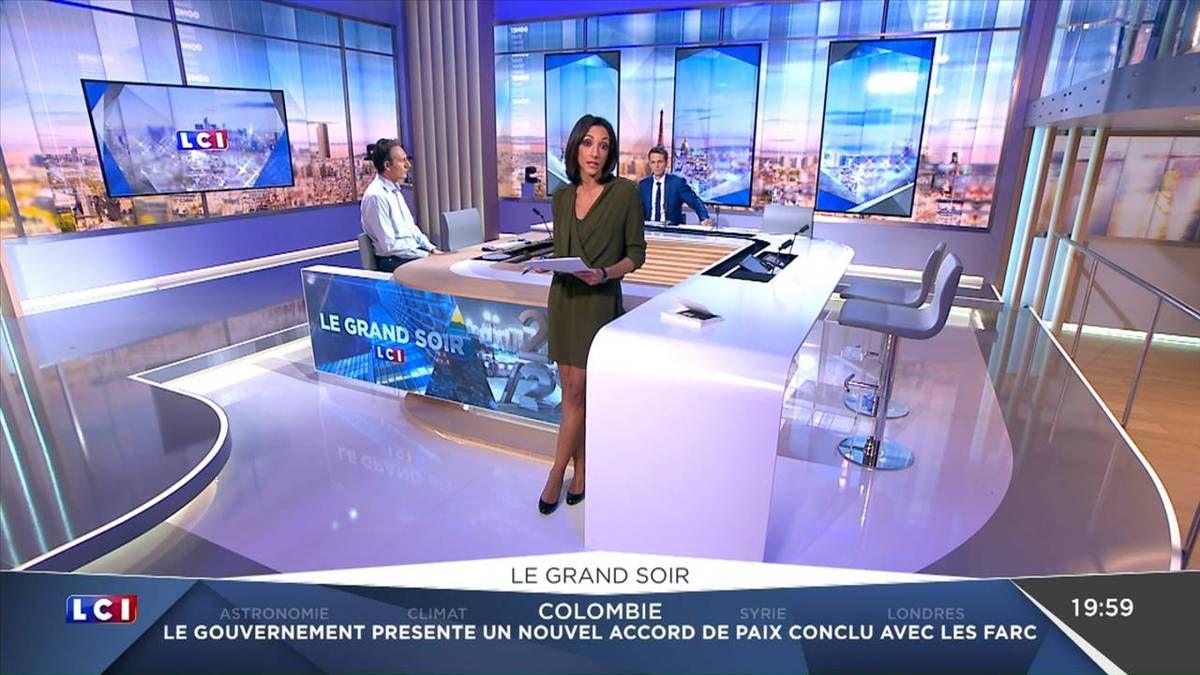 Rebecca Fitoussi Le Grand Soir LCI le 14.11.2016