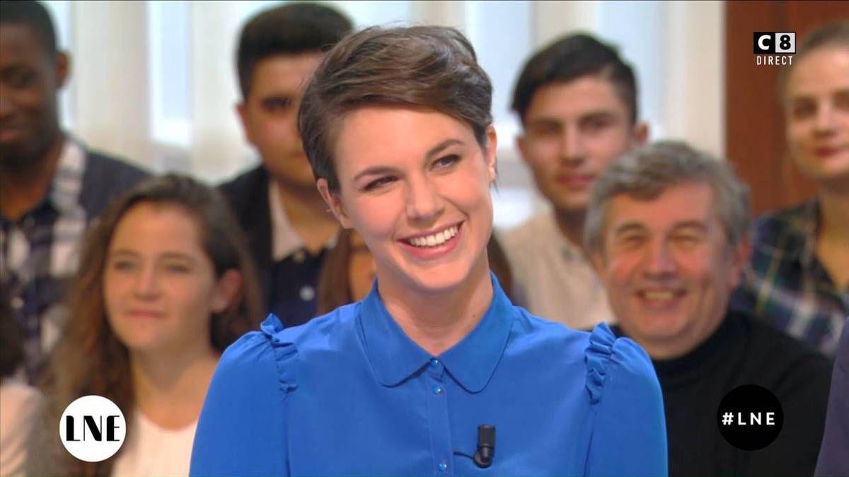 Emilie Besse La Nouvelle Edition C8 le 14.11.2016