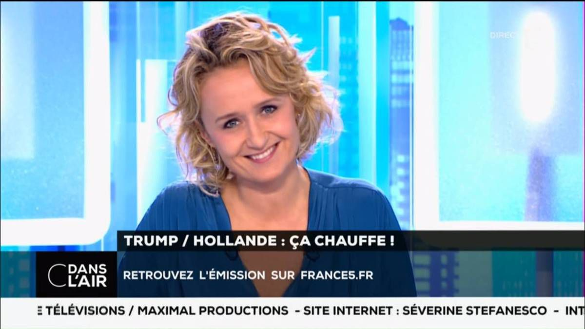 Caroline Roux C Dans L&quot&#x3B;Air France 5 le 15.11.2016