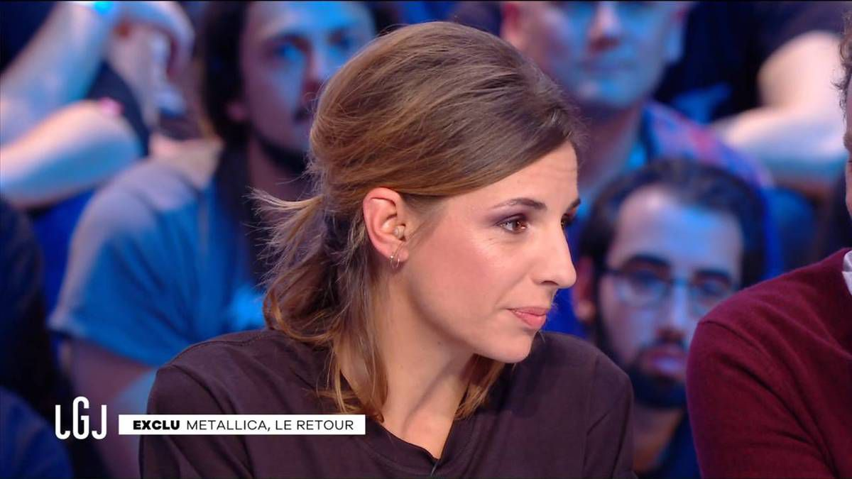 Alice Darfeuille Le Grand Journal Canal+ le 15.11.2016