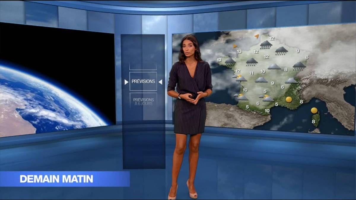 Tatiana Silva Météo M6 le 15.11.2016