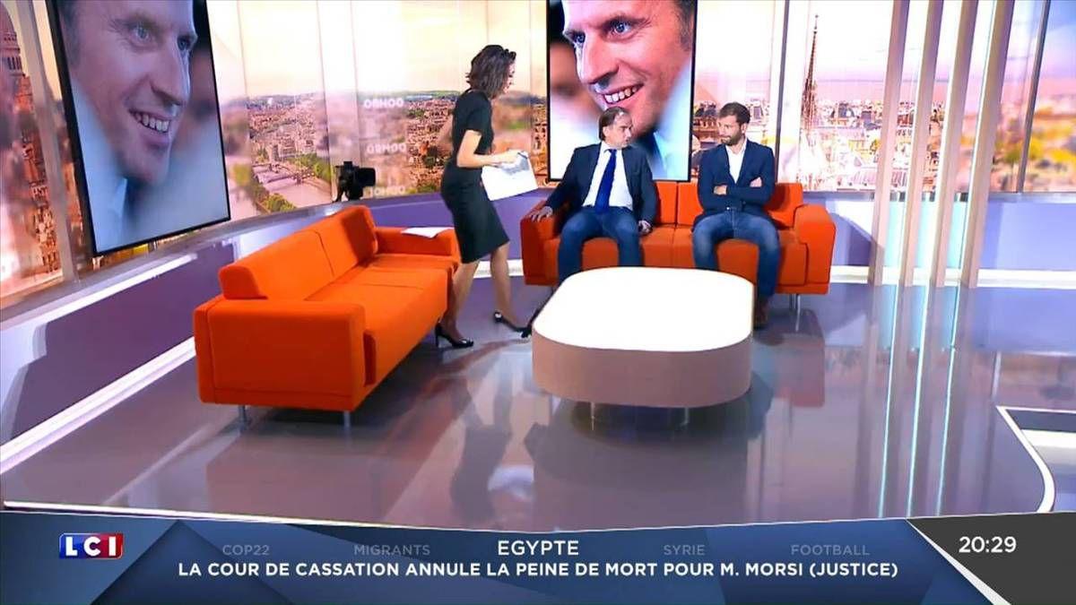 Rebecca Fitoussi Le Grand Soir LCI le 15.11.2016