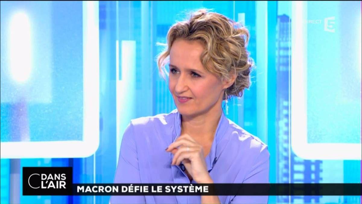 Caroline Roux C Dans L'Air France 5 le 16.11.2016