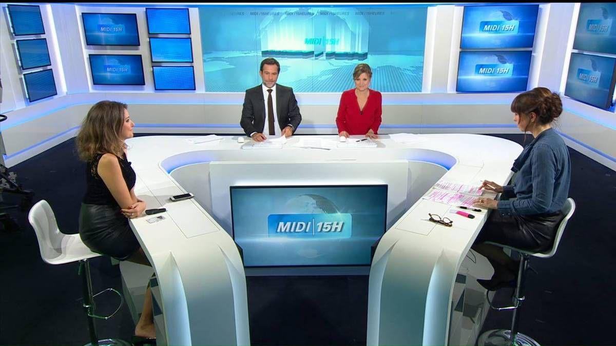 Fanny Agostini Météo BFM TV le 17.11.2016